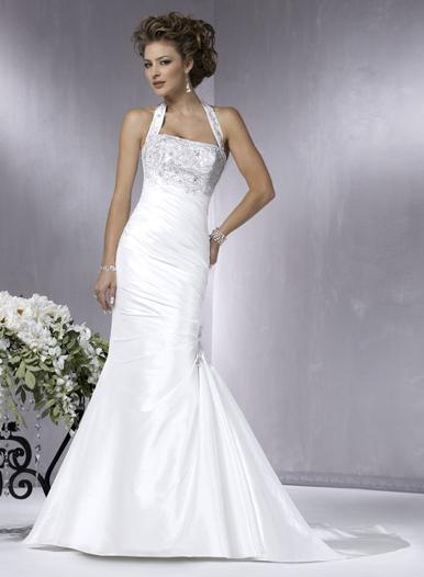 Types of modern wedding dresses fashion conscious for Mermaid halter wedding dresses