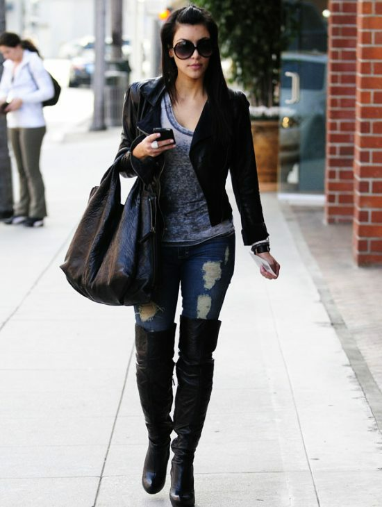 Fashion 101: How To Wear Thigh High Boots - Buy Fashion ...