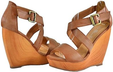 f6a781a9f6f1a8 Blossom Lakers-5 Tan Women Wedge Sandals