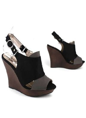 76d2bf24262225 Cut-Out Canvas Slingback Wedge